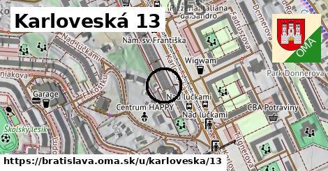 Karloveská 13, Bratislava