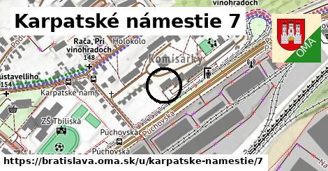 Karpatské námestie 7, Bratislava