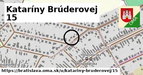 Kataríny Brúderovej 15, Bratislava