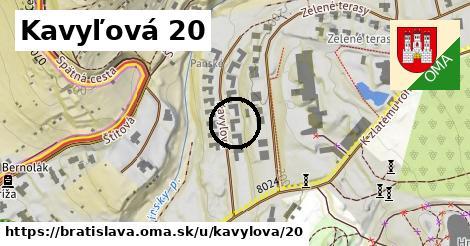 Kavyľová 20, Bratislava