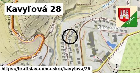 Kavyľová 28, Bratislava