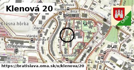 Klenová 20, Bratislava