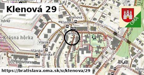 Klenová 29, Bratislava