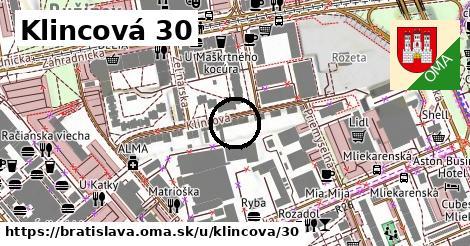 Klincová 30, Bratislava
