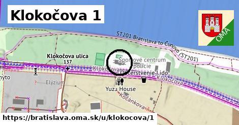 Klokočova 1, Bratislava