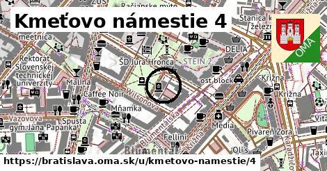 Kmeťovo námestie 4, Bratislava