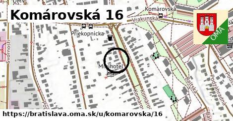 Komárovská 16, Bratislava