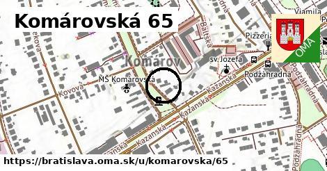 Komárovská 65, Bratislava