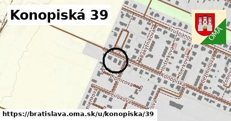 Konopiská 39, Bratislava