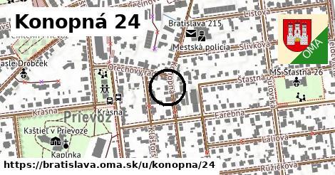 Konopná 24, Bratislava