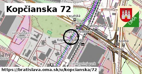 Kopčianska 72, Bratislava