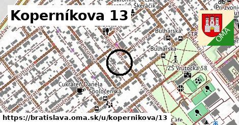 Koperníkova 13, Bratislava