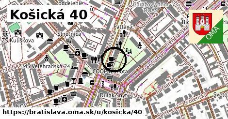 Košická 40, Bratislava