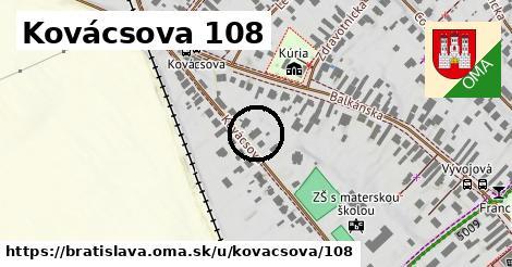 Kovácsova 108, Bratislava