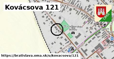 Kovácsova 121, Bratislava
