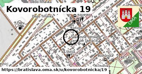 Kovorobotnícka 19, Bratislava