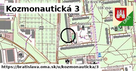 Kozmonautická 3, Bratislava