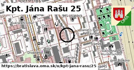 Kpt. Jána Rašu 25, Bratislava