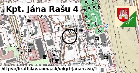 Kpt. Jána Rašu 4, Bratislava