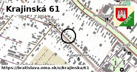 Krajinská 61, Bratislava