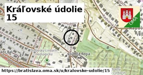 Kráľovské údolie 15, Bratislava