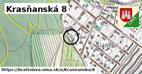 Krasňanská 8, Bratislava