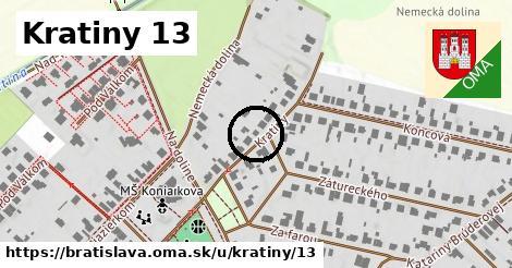 Kratiny 13, Bratislava