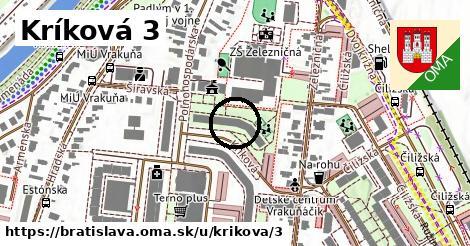 Kríková 3, Bratislava