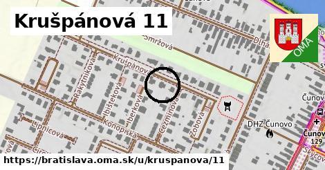 Krušpánová 11, Bratislava