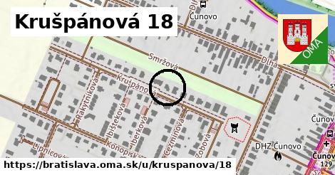 Krušpánová 18, Bratislava