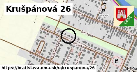 Krušpánová 26, Bratislava