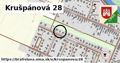 Krušpánová 28, Bratislava