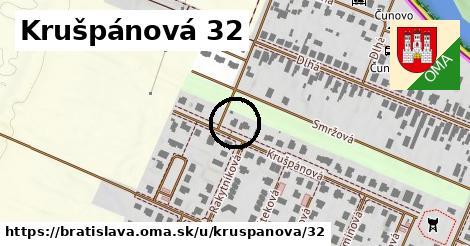 Krušpánová 32, Bratislava