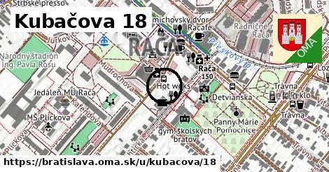 Kubačova 18, Bratislava