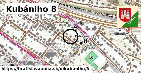 Kubániho 8, Bratislava