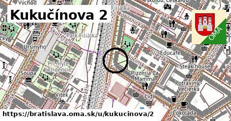 Kukučínova 2, Bratislava