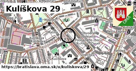 Kulíškova 29, Bratislava