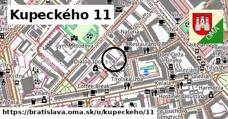 Kupeckého 11, Bratislava