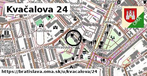 Kvačalova 24, Bratislava