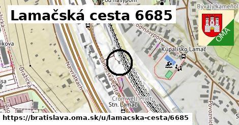 Lamačská cesta 6685, Bratislava