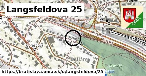 Langsfeldova 25, Bratislava
