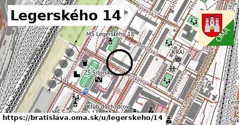 Legerského 14, Bratislava
