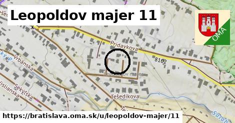 Leopoldov majer 11, Bratislava