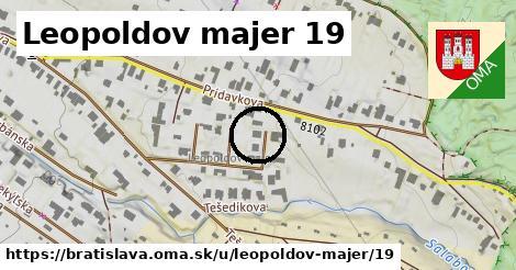 Leopoldov majer 19, Bratislava