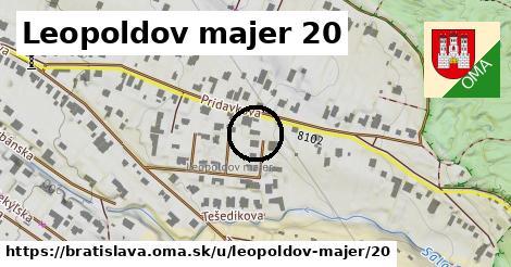 Leopoldov majer 20, Bratislava
