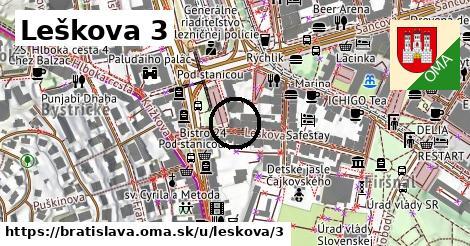 Leškova 3, Bratislava