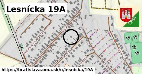 Lesnícka 19A, Bratislava