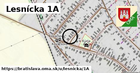 Lesnícka 1A, Bratislava