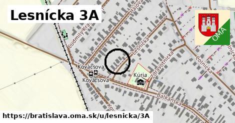 Lesnícka 3A, Bratislava