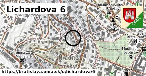 Lichardova 6, Bratislava